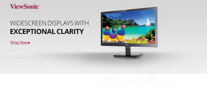 Widescreen Displays with Exceptional Clarity