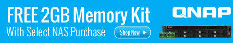 FREE 2GB Memory Kit With Select NAS Purchase