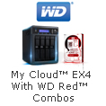 WD MyCloud EX4 With WD Red Combos