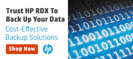HP RDX Backup Storage