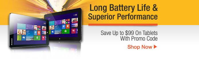 Save Up to$99 On Tablets With Promo Code