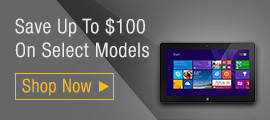 Save Up To $100 On Select Models