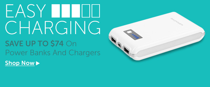 Easy Charming, Save Up to $74 on Power Banks and Chargers
