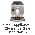 Small Appliances Clearance Sale