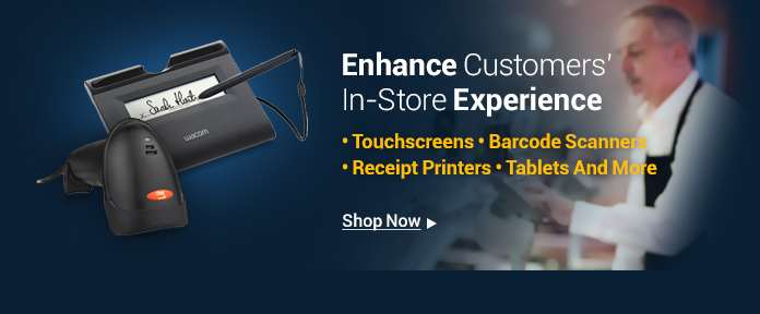 Enhance customers' in-store experience