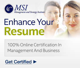 MSI Online Certifications