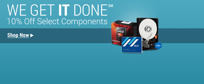Limited Time Discounts on Components