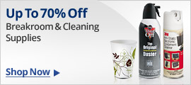Breakroom & Cleaning Supplies
