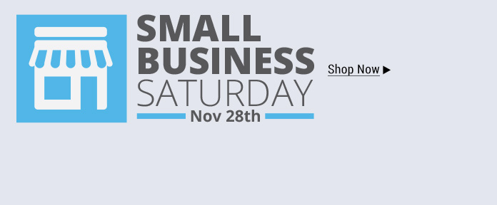 Small Business Saturday: Shop Small