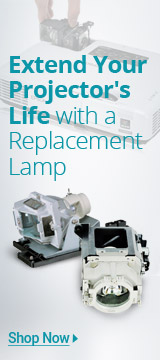 Extend  Your Projector's Life with a Replacement  lamp