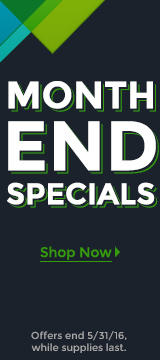MONTH END SPECIALS