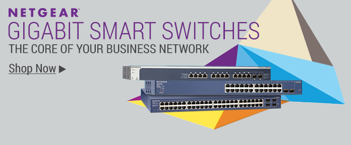 NETGEAR Gigabit Smart Switches