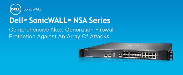 Dell Sonicwall NSA Series Firewalls