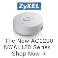 ZyXEL Wireless AC1200 Dual Band PoE Access Point