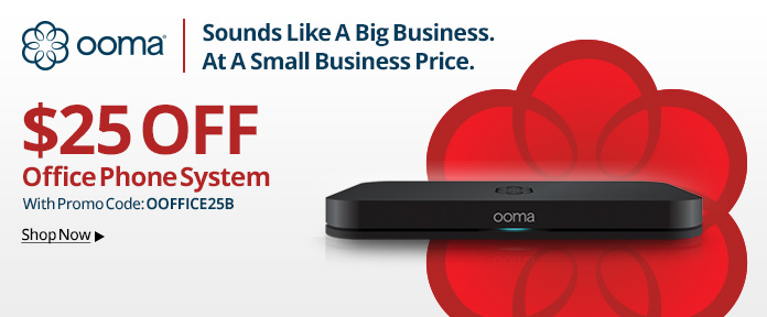 ooma $25 Off