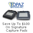 Topaz Signature Pads - Save Up To $100 on Signature Capture Pads