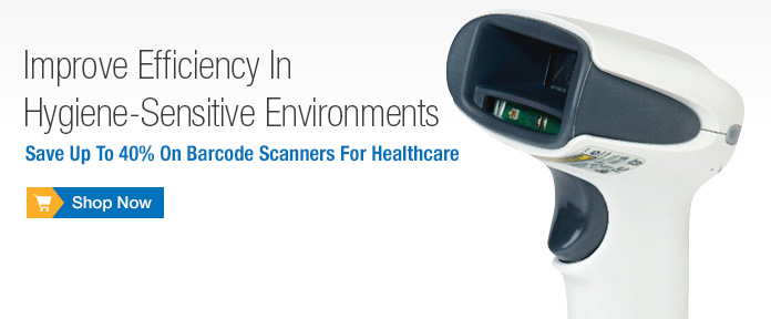 Save Up To 40% On Barcode Scanners For Healthcare
