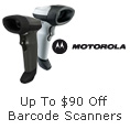 Up To $90 Off Barcode Scanners