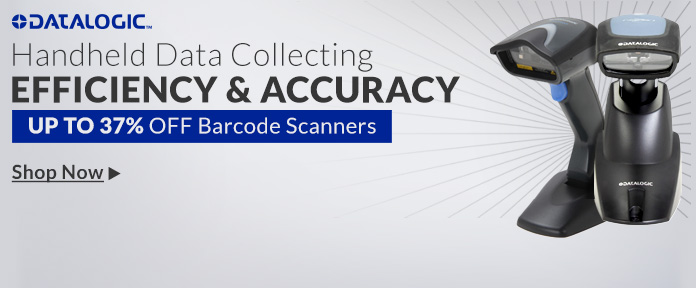 Up to 37% off barcode scanners
