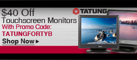 Tatung Touchscreen Monitors 40% Off