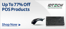 IDTECH POS Products Up To 77% Off