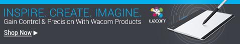WACOM Pens, Stylus, Graphics Tablets