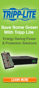 Save some green with Tripp Lite
