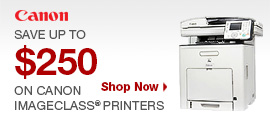 Save up To $250 On Canon Printers