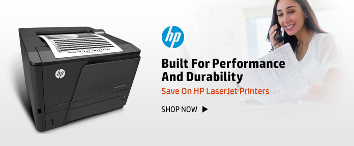 High- performance LaserJet Printers