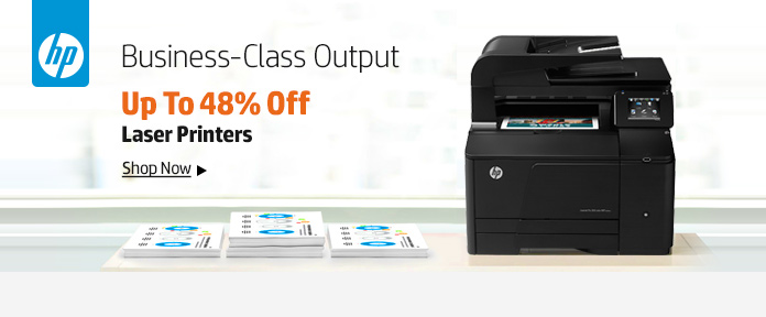 Business-Class Output, Up to 48% Off Laser Printers