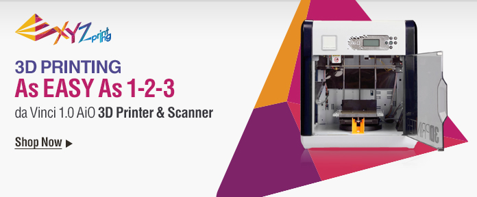 XYZ da Vinci 1.0 AiO 3D Printer