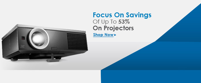Save up to 53% on Projectors