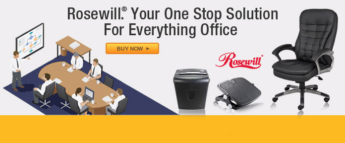 Rosewill. Your One Stop Solution For Everything Office