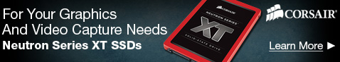 Corsair Neutron Series XT SSDs