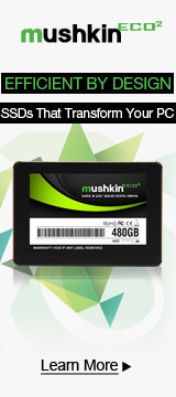 Mushkin ECO² SSDs