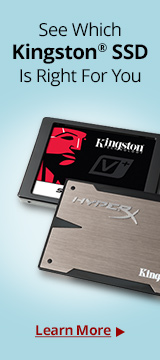 Kingston Solid State Drives