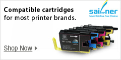 Compatible cartridges for most printer brands