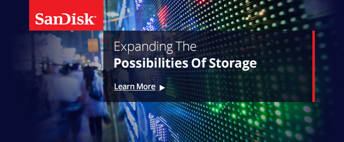 SanDisk® - Expanding The Possibilities Of Storage