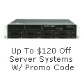 Up To $120 Off Server Systems W/ Promo Code
