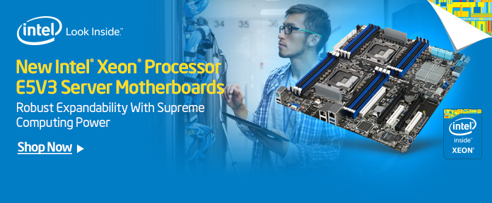 New Intel Xeon Processor E5V3 Server Motherboards