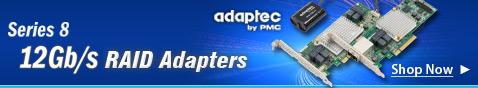 Series 8 12 Gb/s RAID adapters