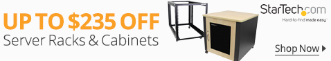 UP TO $235 OFF Server Racks&Cabinets
