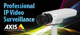 Professional IP video surveillance
