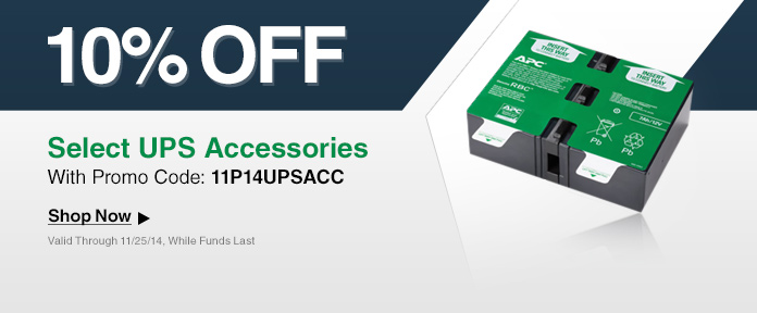 10% off select UPS Accessories with promo code