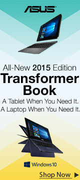 ASUS All-New 2015 Edition Transformer Book