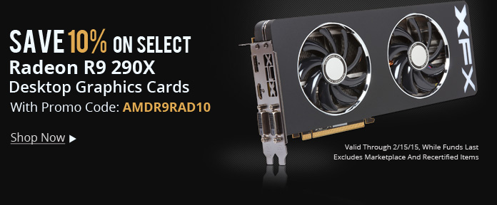 Save 10% on select graphics cards