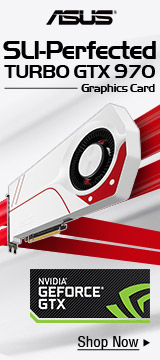 ASUS GTX 970 and 980 Video Graphics Cards