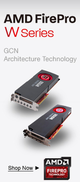 AMD FirePro W Series Workstation Video Cards