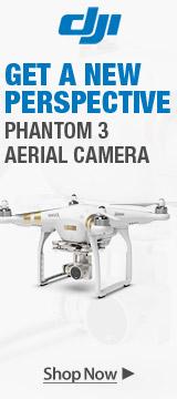 DJI Phantom 3 Aerial Camera