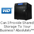 Can i provide shared storage and comprehensive data protection to your business?